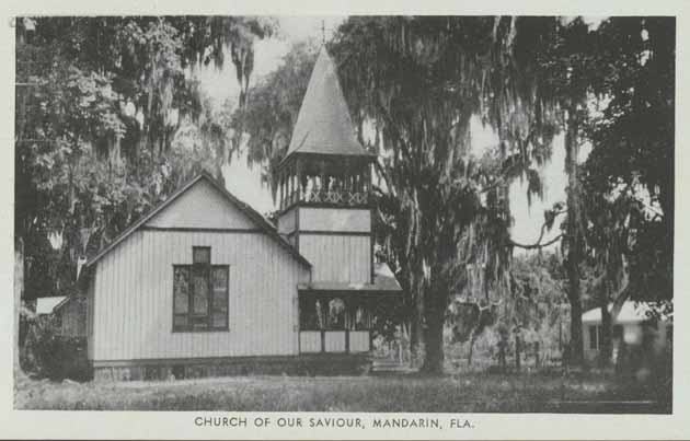 1883 Church of Our Saviour Mandarin FL
