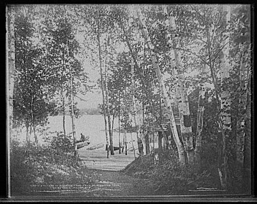 Path to Boathouse 1902